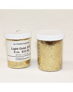 Light Gold Polyflake