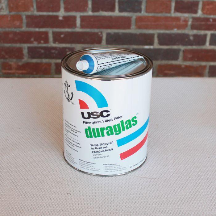 Duraglass Filler Putty Gallon + BPO Hardener