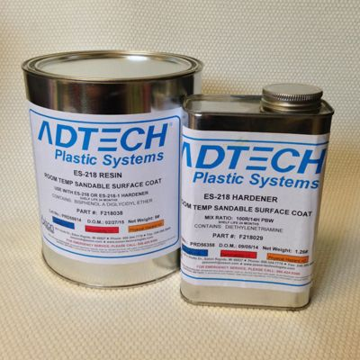 AdTech ES 218 Sandable Surface Coat - Resin Only