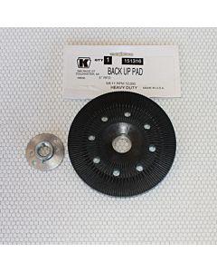 "Grinding Disc Back-up Pad-5"" - Reinforced Polyurethane"