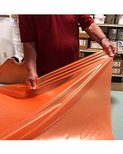 Discount 3 mil Stretch Bag Orange- 120 Yard Roll *Full Roll Only